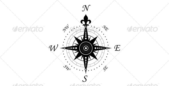 GraphicRiver Vintage compass symbol 109588