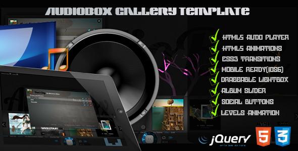 AudioBox - HTML5 Audio Gallery Template