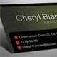 Elegant Dark Business Card #2 - GraphicRiver Item for Sale