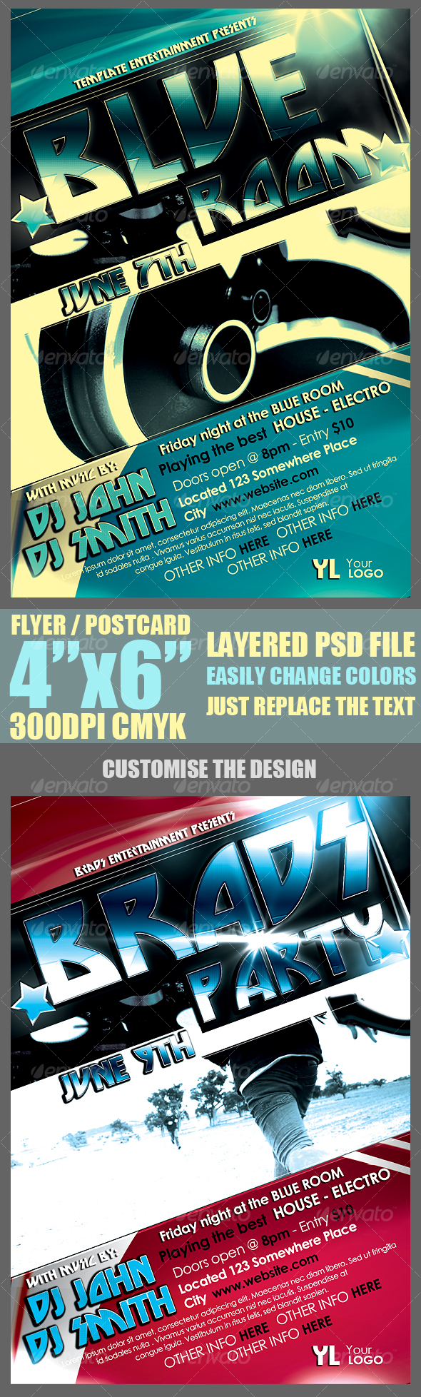 GraphicRiver Modern Flyer Template 110042