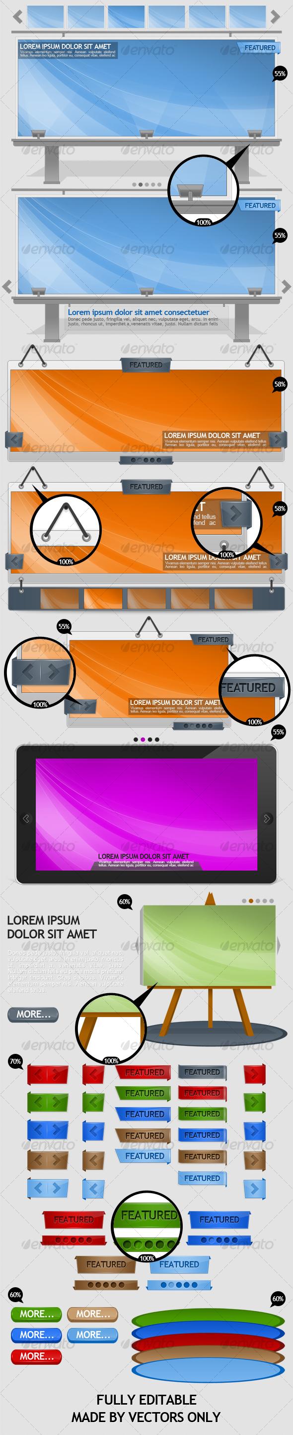 GraphicRiver 7 Content Sliders Power Set 110055