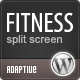 Фитнес : Уникальный дизайн сочетается с Wordpress - Корпоративный бизнес