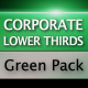 Corporate Lower Thirds Green Pack - VideoHive Item for Sale