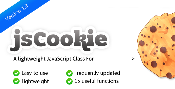 CodeCanyon jsCookie Easy to use JavaScript Cookie Library 308627