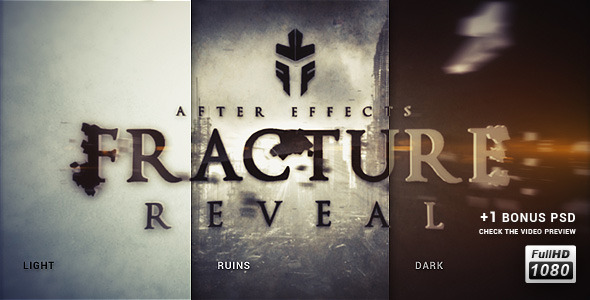 VideoHive Fracture Reveal 3107585