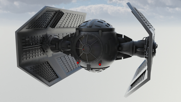 3DOcean Vaders Tie Fighter 110143