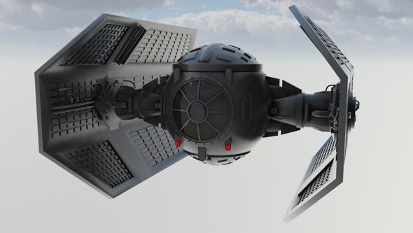 Vaders Tie Fighter