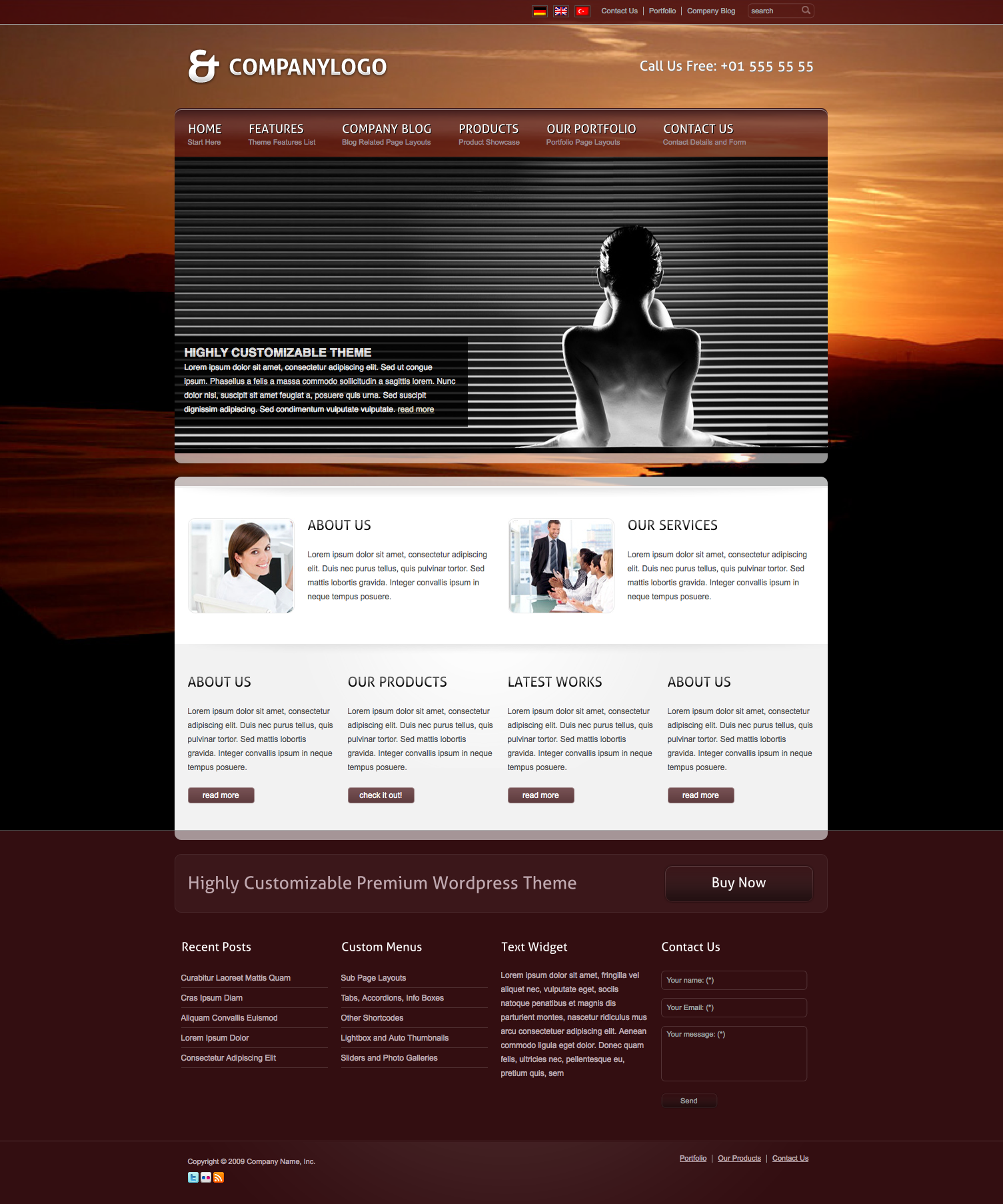 RT-Theme 13 Multi-Purpose Premium Wordpress Theme