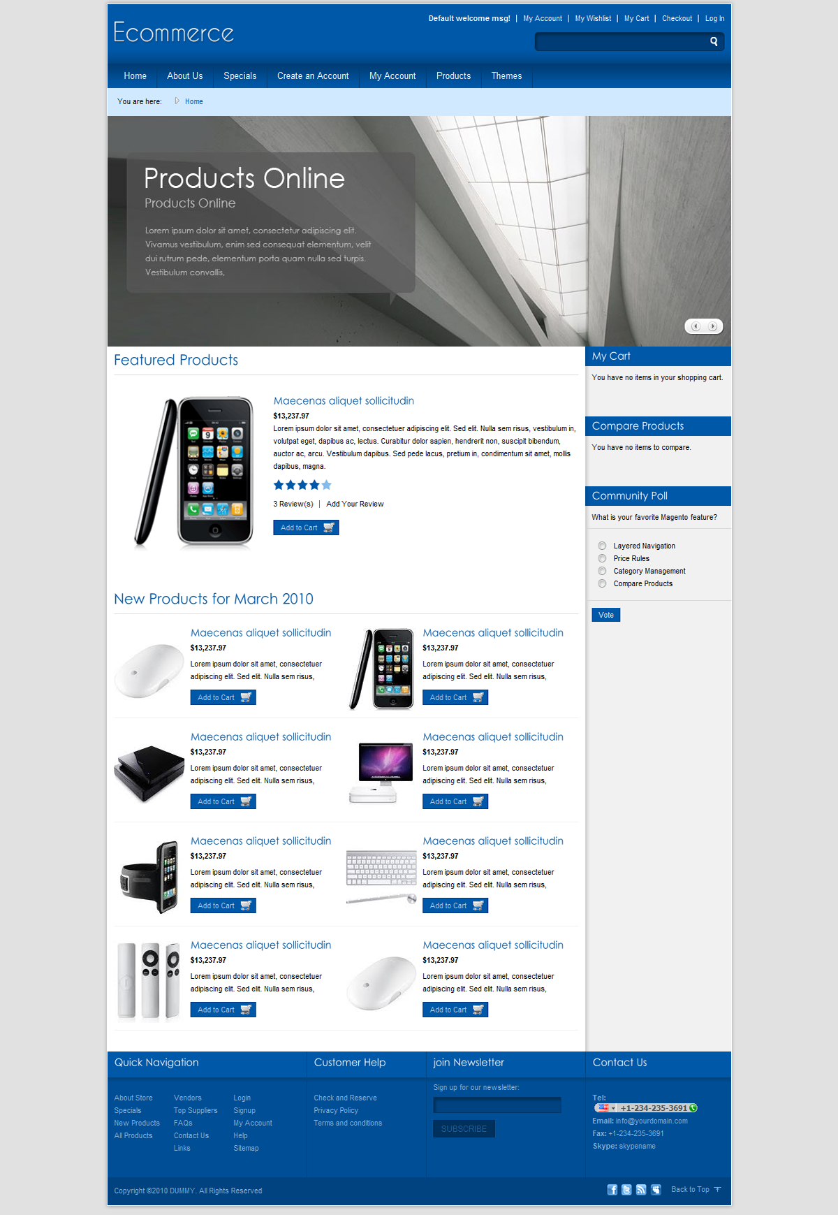 Ecommerce Shopping Store 7