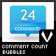 Comment Count Bubbles - GraphicRiver Item for Sale