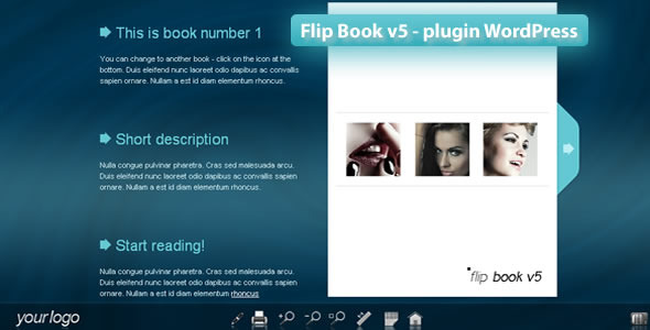 CodeCanyon FlipBook v5 WordPress Plugin 3109369