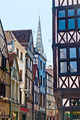 Half-Timbered Houses in Rouen, Normandy, France - PhotoDune Item for Sale