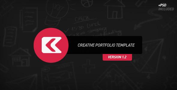 Kronos - Creative Portfolio Template