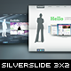 SilverSlide – premium portfolio theme (3×2)  Free Download