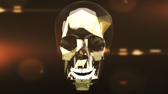 VideoHive Absract Skull 3112965