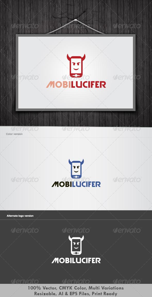 Mobile Lucifer Logo - Vector Abstract
