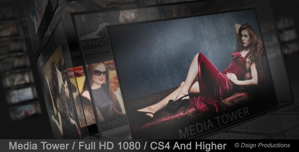 After Effects Project - VideoHive Media Tower 2918338