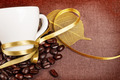 Coffee Cup with Yellow Ribbon - PhotoDune Item for Sale
