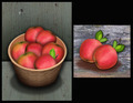 Autumn thanksgiving apples on old wooden surface - PhotoDune Item for Sale