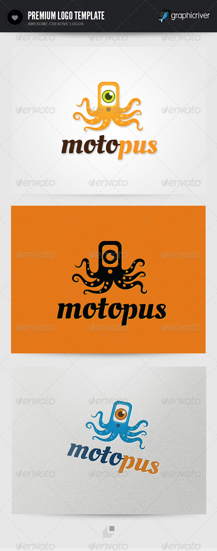 Motopus Logo - Animals Logo Templates