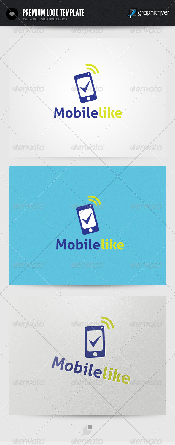 Mobilelike Logo - Objects Logo Templates