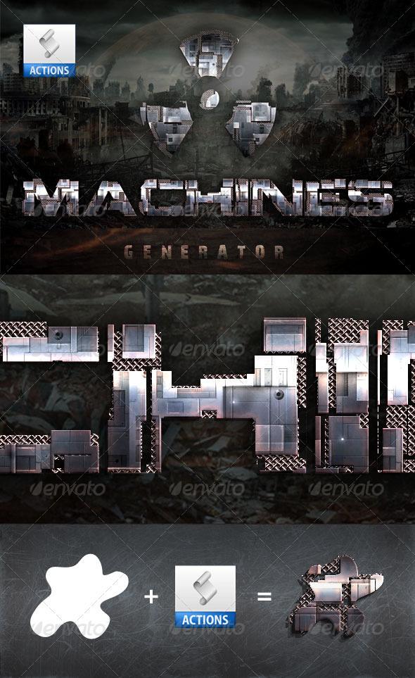 GraphicRiver Machines Generator 3121949