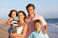 Portrait Of Family On Beach Holiday - PhotoDune Item for Sale