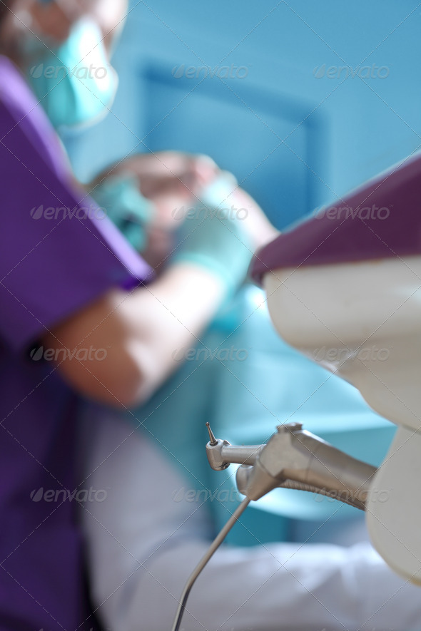 Dentist Office Abstract  - Stock Photo - Images