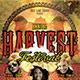 Harvest Festival: Thanksgiving Flyer & CD Template - GraphicRiver Item for Sale