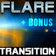 lens flare transitions - VideoHive Item for Sale