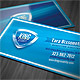 Security Shield Business Card - GraphicRiver Item for Sale