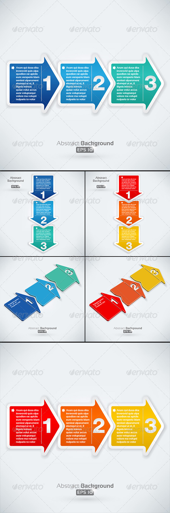 GraphicRiver Arrow Collection 3109633