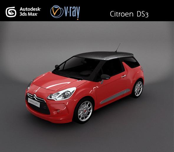 3DOcean Citroen DS3 3125170