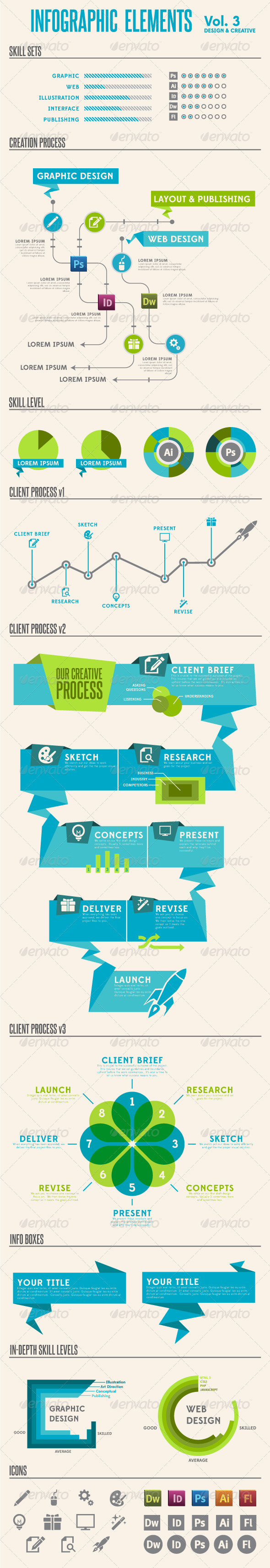 GraphicRiver Infographic Elements Vol 3 3109226
