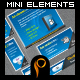 Mini Web 2.0 Elements: 17 Web Elements - GraphicRiver Item for Sale