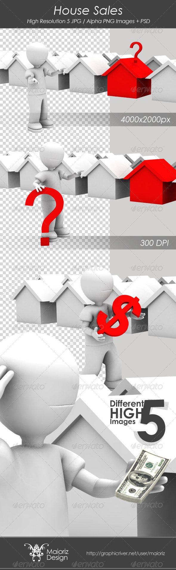 GraphicRiver House Sales 3115415
