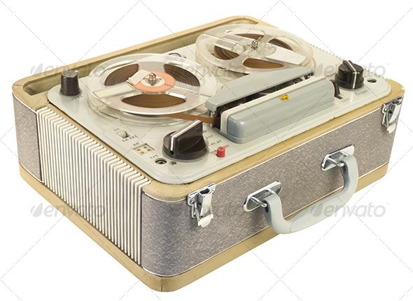 GraphicRiver Tape recorder Tilt View 110689