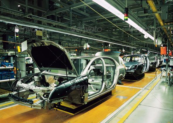 PhotoDune car production line 3128935