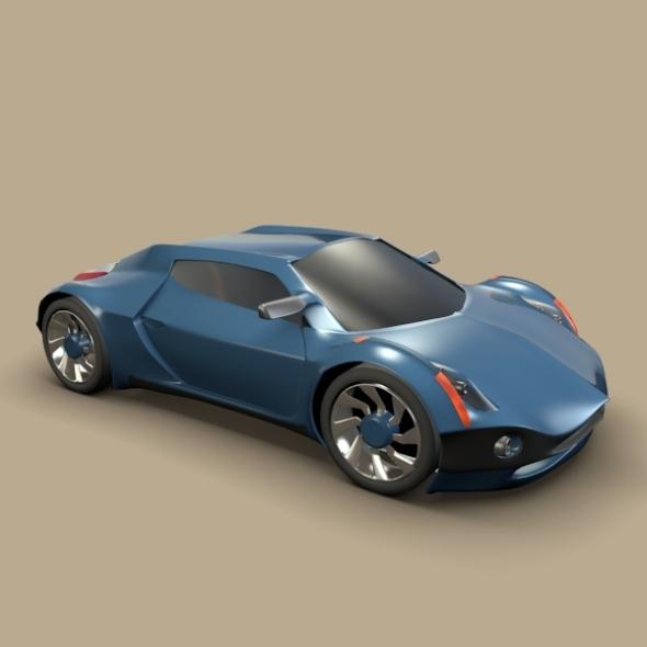 3DOcean Conceptor x concept car 3128796