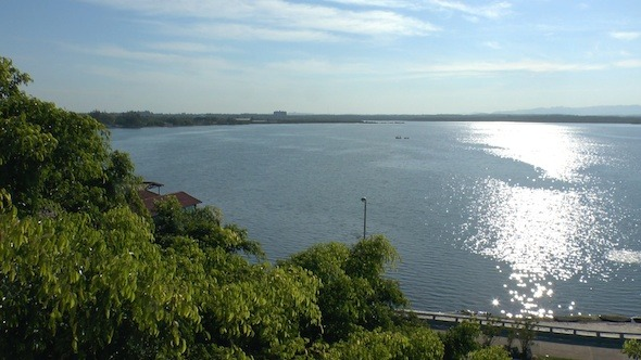 View On Cienfuegos Bay From Palacio De Valle Cuba