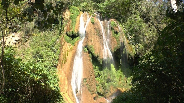 Videohive Waterfalls In Topes De Collantes Cuba