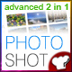 Photoshot – photo blog-portfolio  Free Download