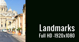 Landmarks -  Full HD Footage -1920x1080