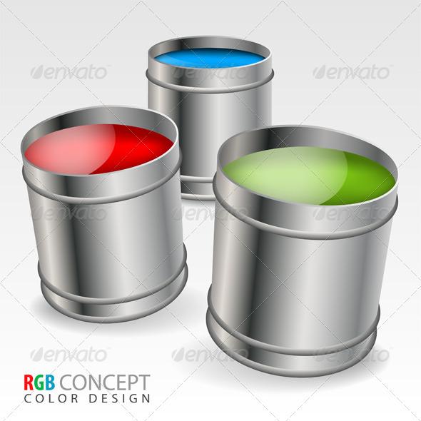 GraphicRiver Color Concept 3133661