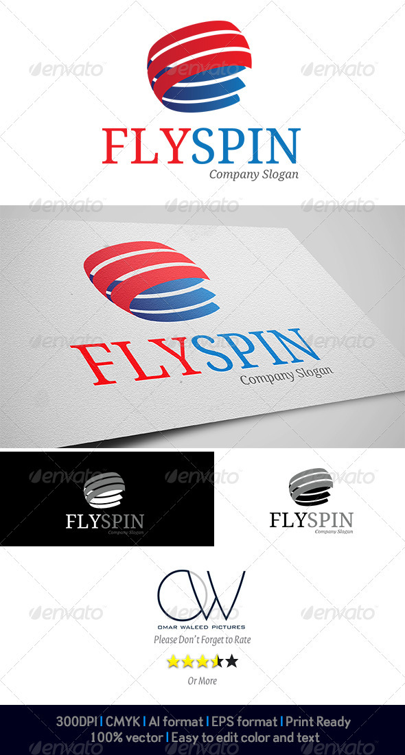 Spin Logo - Abstract Logo Templates
