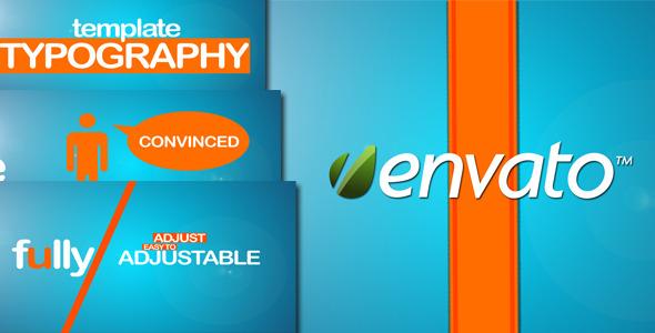 VideoHive Echo Typography Promo 3122586