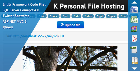 K Personal File Hosting - WorldWideScripts.net Item for Sale
