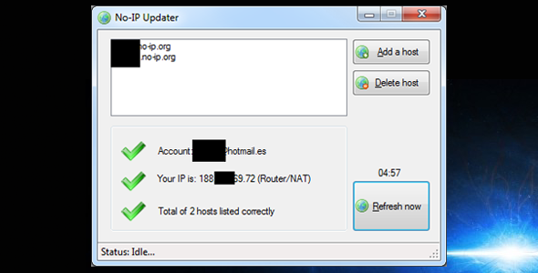 CodeCanyon No-IP.org DNS Updater 3137456
