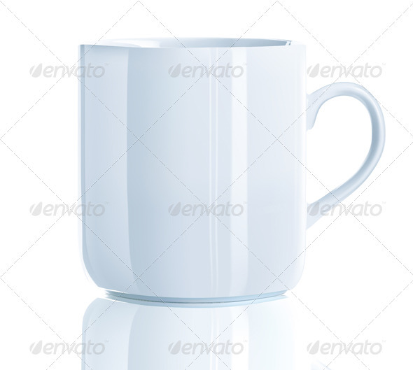 tea cup  - Objects Vectors
