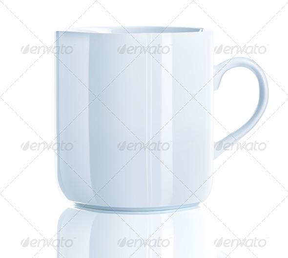 tea cup  - Objects Vectors